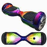 HCFKJ 6,5 Zoll Self-Balancing Scooter Skin Hover Elektro Skate Board Aufkleber Zwei-Rad Smart Schutzhülle Fall Aufkleber (J)