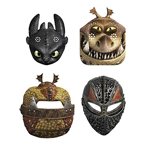 agon: The Hidden World - Party Masks [8 per Package] ()