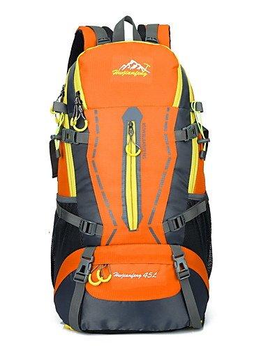 ZQ 45 L Tourenrucksäcke/Rucksack / Travel Organizer / Rucksack Camping & Wandern DraußenWasserdicht / Schnell abtrocknend / tragbar / Black