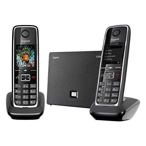 Gigaset C530 IP El Teléfono VoIP y Línea Fija