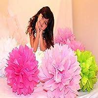 European Kit de Pompones,rosetas,faroles de Papel 50 und Surtidos de Colores y Medidas