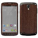 atFolix Samsung Galaxy S4 Active Skin FX-Wood-Teak Designfolie Sticker - Holz-Struktur/Holz-Folie