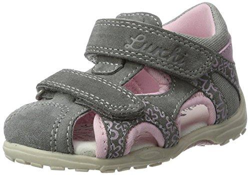 Lurchi Baby Mädchen Molo Lauflernschuhe, Grau (Grey), 22 EU