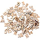 Top-Sell Letra De Madera Del Adorno Del Alfabeto 100pcs Letras Scrapbooking Cardmaking Craft