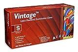 3x scatole di Aurelia vintage latex polvere leggermente guanti usa e getta