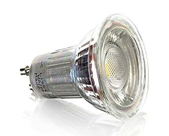 Ampoule spot lED gU10 blanc chaud spot à intensité variable - 9xSMD 45° - 360 lm 5 w