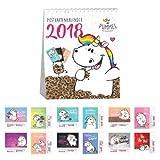 Pummeleinhorn Postkartenkalender - 2018