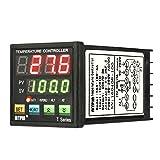 KKmoon Digitale LED-PID-Temperaturregler Temperaturregler Coil-Heizung Heizung Kühlungssteuerung TC / RTD Eingang SCR-Ausgang 1 Relais Alarm