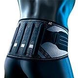 LP Support 161XT X-TREMUS Kompressions Rückenbandage 2.0 mit Zuggurten, Größe XXL