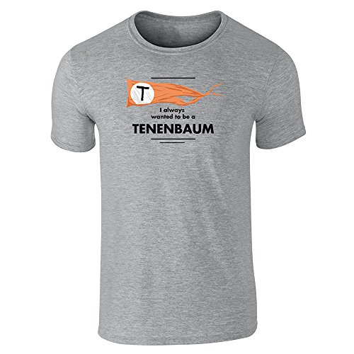 Pop Threads Herren T-Shirt Grau