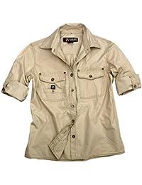 Outdoor- Safari-Herrenhemd in Beige, Braun, Grün und Brick aus Leichter  Baumwolle, Langarm Shirt- Wie Viele Unserer Anderen Hemden bis… 8e3efe4eb2