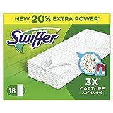 Swiffer Trockene Bodentücher/Bodenwischer Nachfüllpackung, (6x18 Tücher)
