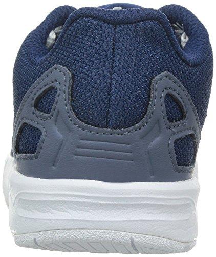 adidas Zx Flux, Chaussures Marche Mixte Bébé, Bleu, 22 EU Bleu marine et blanc