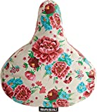 Basil Sattelbezug Bloom-Saddle Cover, Gardenia White, One Size