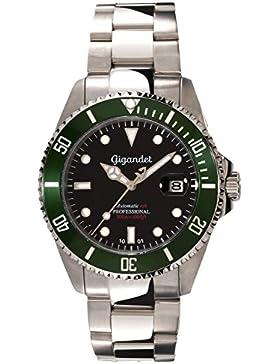 Gigandet Automatikuhr SEA GROUND Analog Automatik Armbanduhr Herren-Uhren wasserdichte Taucheruhr Uhr Datum Herrenuhr...