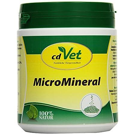 cdVet MicroMineral Hund & Katze 500g – Nahrungsergänzung für Haustiere mit Mineralstoffen und Spurenelementen wie…