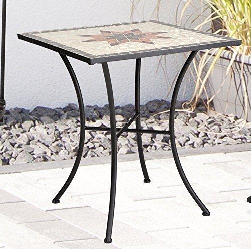 Gartentisch Constanza, Mosaik Möbel im Mediterrane Stil, Tisch Eckig - Mediterraner Stil Möbel