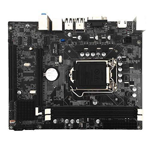 Placa Madre Profesional de la computadora de Escritorio para Intel H55 HDMI Socket Mainboard DDR3 Doble Canal HDMI LGA 1156 Pin con Pantalla de E/S