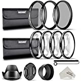 Neewer 52mm Kit Filtro Lenti 52mm per Fotocamera DSLR con...