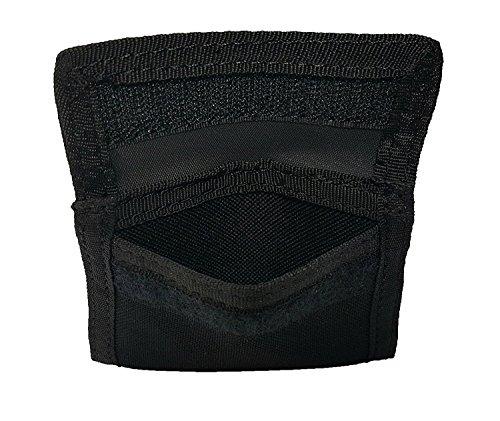 LINE2design Latex-Handschuh-Etui schwarz - Polizei - Feuerwehrmann - EMS - emt - Sanitäter medizinische Handschuhträger 700 Etui