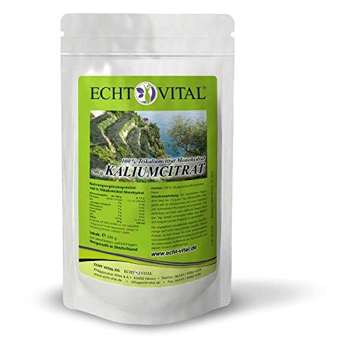 ECHT VITAL KALIUMCITRAT - 1 Beutel mit 200 g Pulver