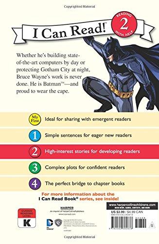 Batman: I Am Batman (Batman: I Can Read!, Level 2)