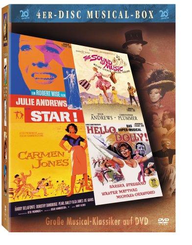 Bild von Musical Box - Star! / Carmen Jones / Hello, Dolly! / Meine Lieder - Meine Träume (4 DVDs)