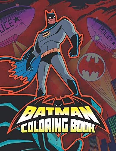 BATMAN Coloring Book: 30 Exclusive ()