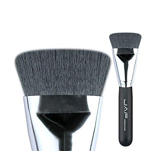 Synthetische Flache Kabuki Pinsel Foundation Blending Pinsel Make-Up Contour Pinsel Textmarker...