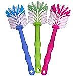 Gläserbürste Spülbürste Nylonbürste von MA-OnShop - optimale Reinigungsbürste für Mixtöpfe z. B. Thermomix TM5 / TM31 und vieles mehr