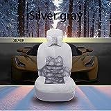 HEIFEN Car Interior Products Winter Car Peluche Cuscino per Mantenere Caldo, Freddo Short Plush Driver Warm Cushion