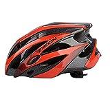 Asvert Fahrradhelm Erwachsener Fahrrad Sturzhelm Reithelm Road Mountainbike Helm, M/L (Rot, M)