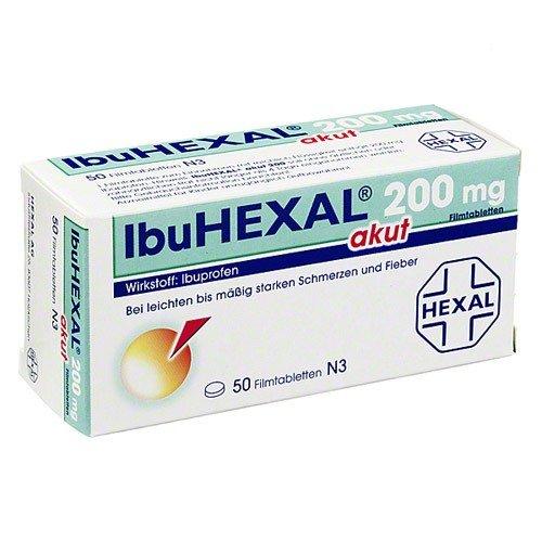 Ibuhexal akut 200 mg Tabletten, 50 St.