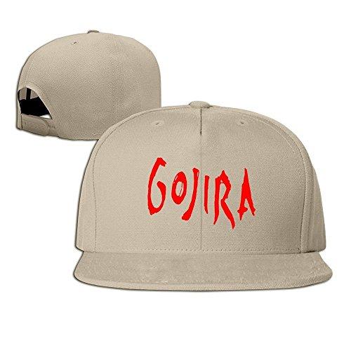 d40f40e081b hittings Gojira banda Logo Unisex Fashion Cool Adjustable Snapback Gorra de  béisbol tiene One Size Natural