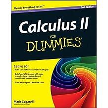 Calculus II For Dummies by Mark Zegarelli (2012-02-20)