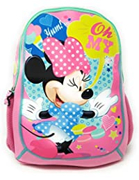 47809e72b6 HMI Original Disney Characters 14 inch Toddler Kids Backpack Bag for  Kindergarten Play School Nursery   Elementary…