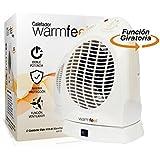 Biwond - Calefactor aire caliente y frio eider a18 2000w warmfeel