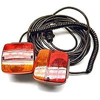 Magnetico di rimorchio o di un caravan di scheda di illuminazione 10m di cavo