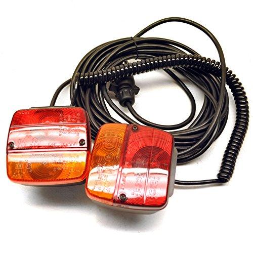 Anhänger oder caravane magnetische / Rat der Beleuchtung leuchten Rückgewinnung Auto 10m Kabel - Magnetische Anhänger