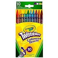 Crayola - Wallet Of 10 Twistable Pencils