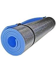 léger en feuille d'aluminium en mousse Tapis de yoga Fitness extérieur exercices pique-nique Pad