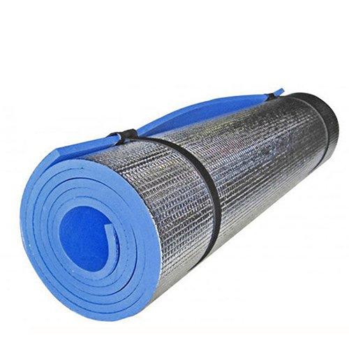good01pranzo tappetino da yoga Outdoor Portable Foam Pad, leggero in alluminio rivestito in schiuma tappetino per esercizi di yoga, fitness all\' aperto picnic, Multi-coloured