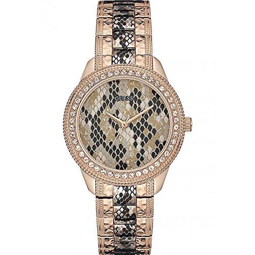 Guess Watches W0624L2 Women's Serpentine Rose Watch