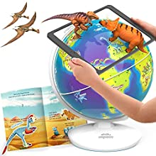 Shifu Orboot World of Dinosaurs (App Based): interactive, educational, AR globe for boys & girls - STEM toy gift for kids ages 4-10 years