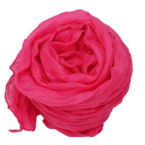 wolle Schal Soft Wrap Schal, 160cm*50cm (Hot Pink) ()