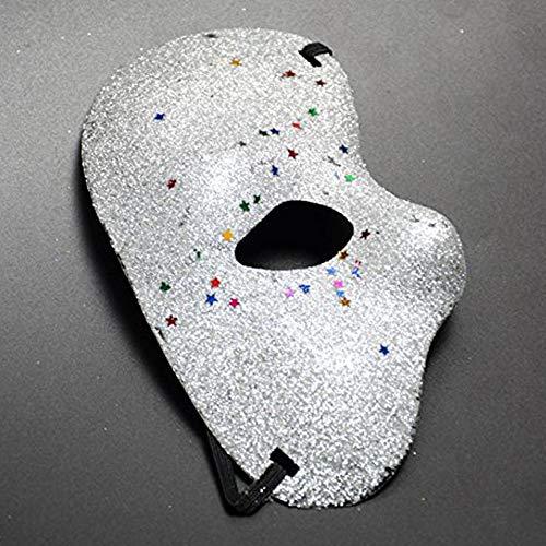 lymty Halloween-Maske Phantom die Oper Weihnachten Halloween Half Face Masquerade venezianische ()