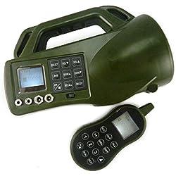 SmartEra® Facile l'appelant carry d'oiseau CP-550 pour homme d'attaque,oiseau jusqu'à 200m de chasse aux oiseaux avec 400 type de sons d'oiseaux