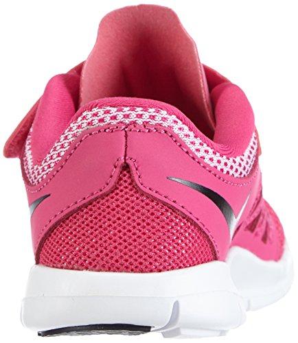 Nike Free 5 (PSV) Mädchen Laufschuhe Pink (Hot Pink/Black-White 602)