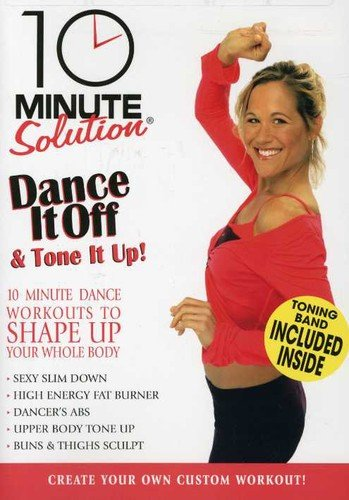 Preisvergleich Produktbild 10 Minute Solution: Dance It Off & Tone It Up (With Fitness Band)