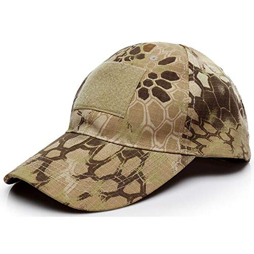 Huichao Casquette de Baseball Camouflage de Loisir pour Hommes et Femmes,desertpythonpattern